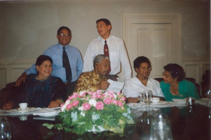 Dinner with Mandela at Genadendal. Submitted by Jenny Olivier