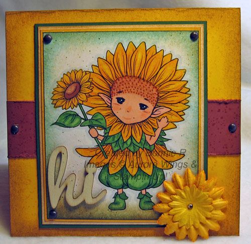 br Dirty Sunflower Sprite - images copyright Stamps by Aurora Wings