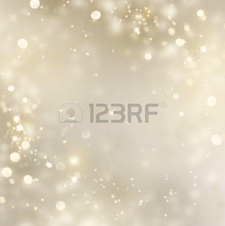 Kerst gouden achtergrond. Golden vakantie gloeiende achtergrond Stockfoto