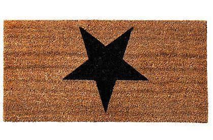 Fußmatte Stern von Bloomingville - BLOOMINGVILLE CAR möbel