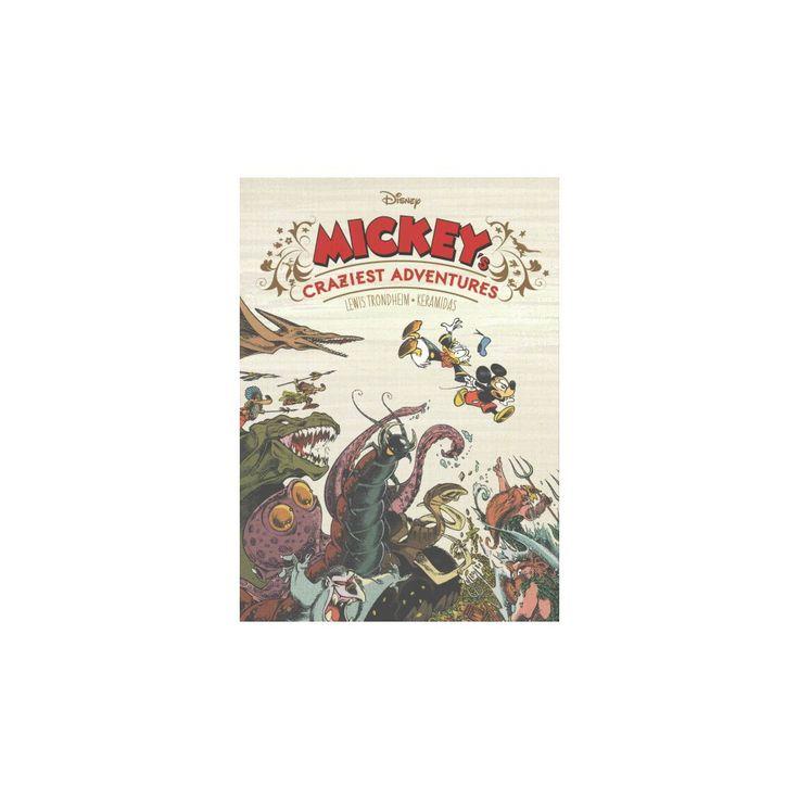 Mickey's Craziest Adventures (Hardcover) (Lewis Trondheim)