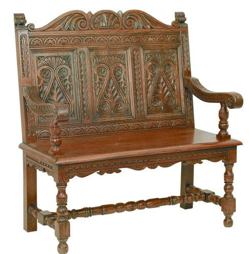 Jacobean Settle By Antique Reproduction Furniture - 11 Best English Jacobean Era 1603 -1649 A.D. Images On Pinterest