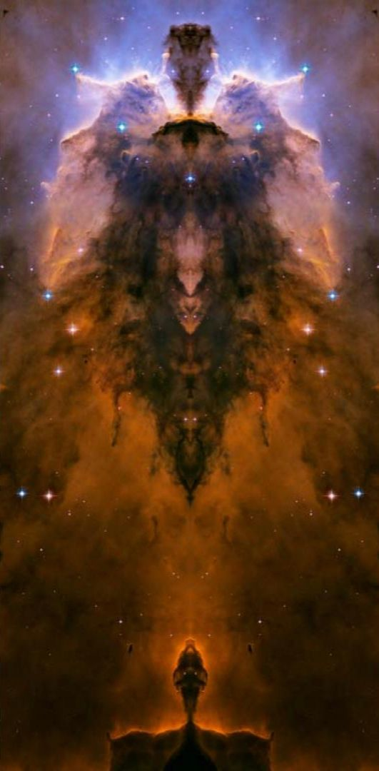 Trippy Wallpaper Iphone X Stellar Spire In The Eagle Nebula This Is An Original