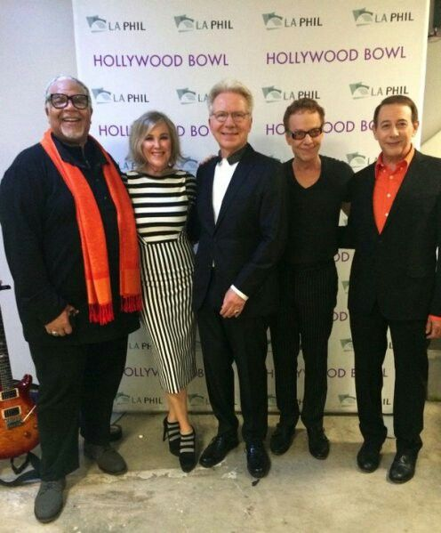 Danny Elfman & The Nightmare Before Christmas cast #dannyelfman #danny #elfman #oingoboingo #oingo #boingo
