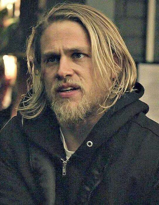 Love long-haired Jax | Charlie hunnam soa, Sons of anarchy, Hair beauty
