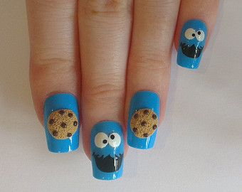 Popular items for fake nails nail art on Etsy