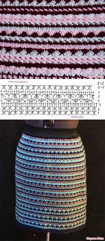Вязание. Крючком. Цветное. Платья. Юбки. Топы. Туники. Жилеты. Жакеты. Ручное. Авторское. Мода. Узоры. Схемы. Knitting. Сrochet Knitting. Color. Dresses. Skirts. Tops. Tunics. Vests. Jackets. Crochet patterns. Handmade. Fashion. Pletení. Hačkovaní. Barvy