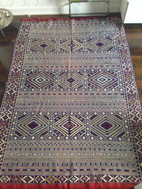 Large Moroccan Rug Home Decor