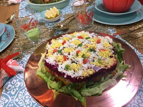 Décor salade algérienne samira tv