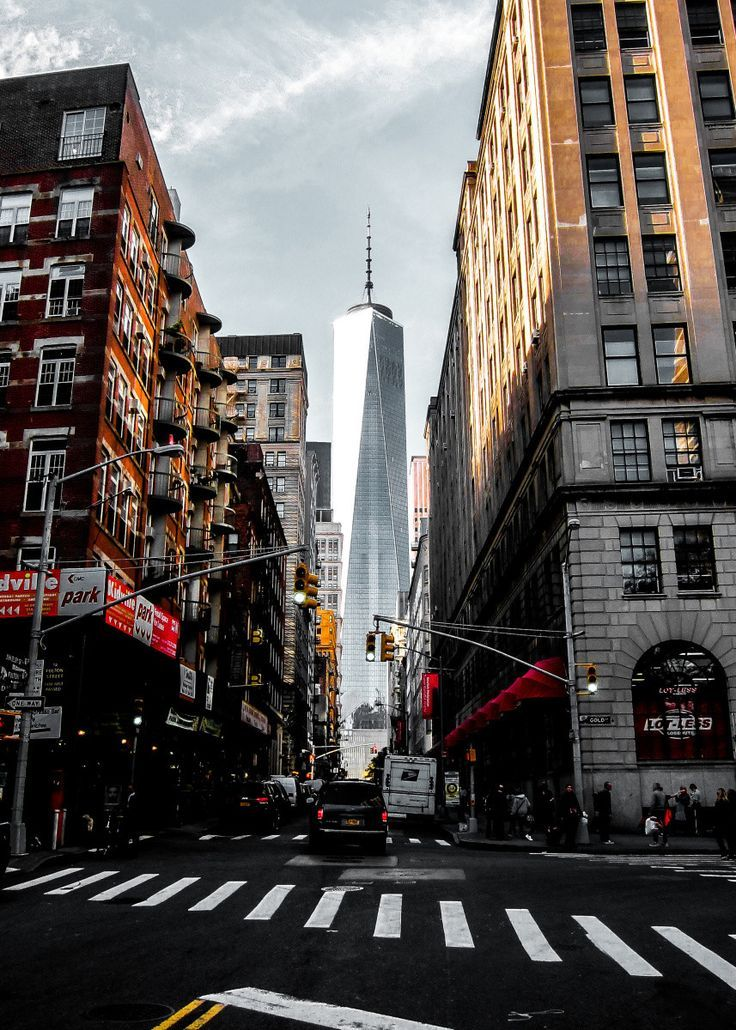 lower manhattan one wtc united states poster print