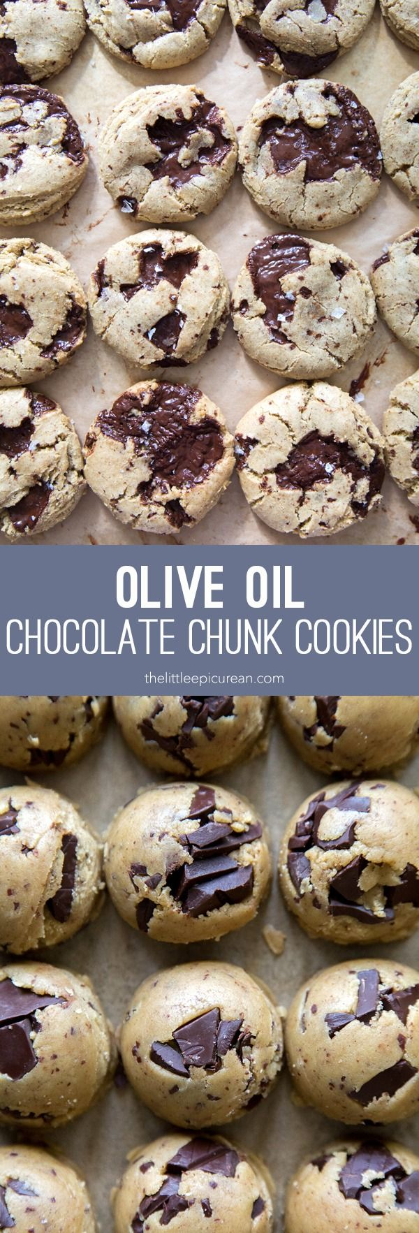 This weekend, we're whipping up Olive Oil Chocolate Chunk Cookies by The Little Epicurean @thelittleepicurean . She perfected this recipe using our Lindt EXCELLENCE 70% and 90% Dark Chocolate bars