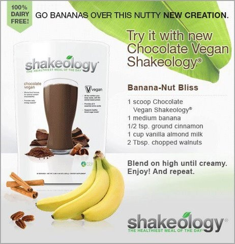 Vegan Chocolate Banana-Nut Bliss