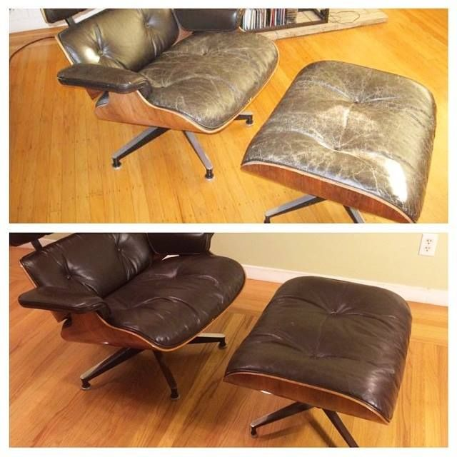 How To Restore Colour To Faded Leather Furniture | As You Can See From This  Customeru0027s