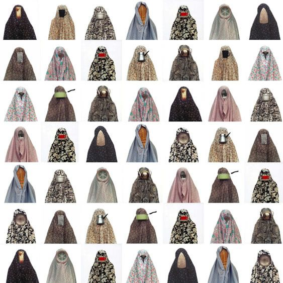 Shadi Ghadirian - from Like Everyday 2002. Great and unique typology.