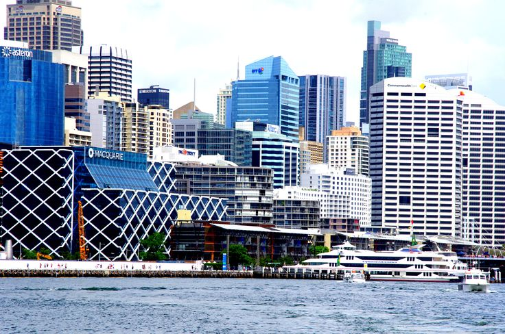 King Street wharf precinct, Sydney, Australia