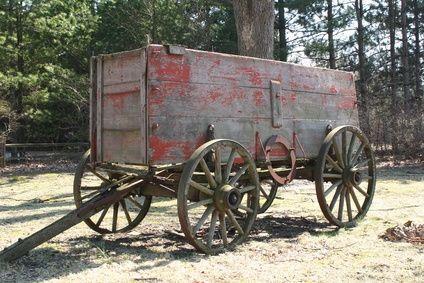 Old chuck wagon.