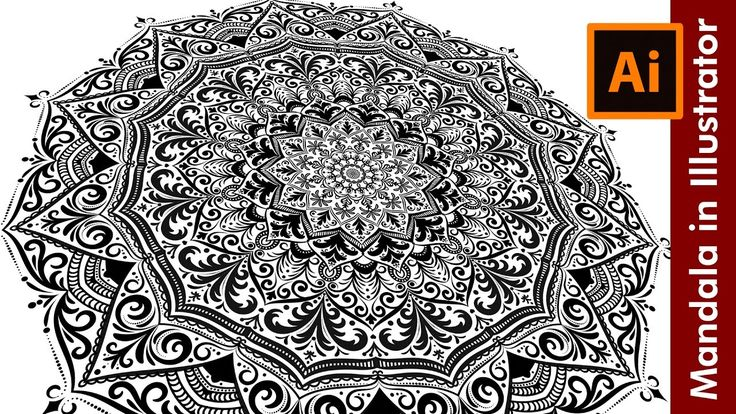 Mandala Tutorial How to draw a Mandala in Adobe