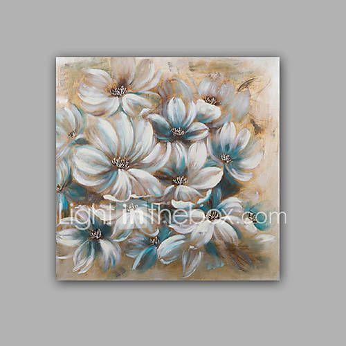 Pictat manual Abstract / Floral/Botanic Picturi de ulei,Modern / Clasic Un Panou Canava Hang-pictate pictură în ulei For Pagina de 5388207 2017 – €67.60