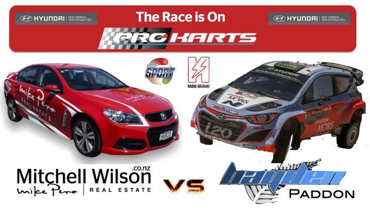 Wilson V Paddon... who will win the race?