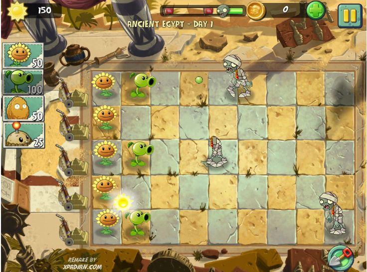 Plant vs Zombies 2 - Fire Storm Game - Play Game Online Free