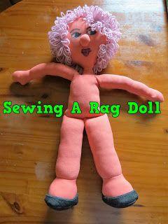 A Pretty Talent Blog: Sewing A Rag Doll Part 1