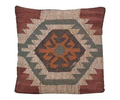 Coussin  laine, multicolore - 45*45