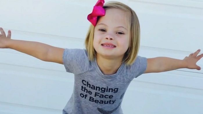 A 7-year-old California girl is touching millions of hearts with a powerful message about the value of people with special needs.  Sofia Sanchez has Down synd
