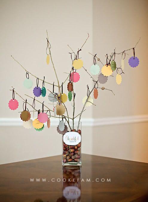 Thankful Tree--another retreat idea~