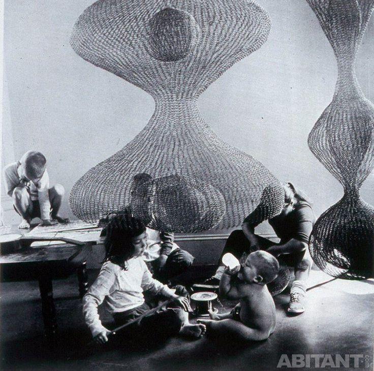 Воздушные скульптуры Рут Асавы