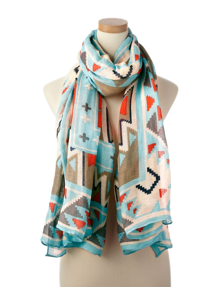scarf: Prints Pattern, Fashion, Style, Bold Prints, Indian Pattern, Scarves, Prints Scarf, Accessories, Tribal Prints