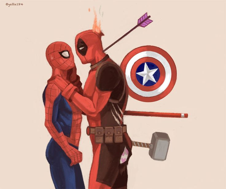 """""""I want to go out with Spidey."""" """"Boooo!"""""""