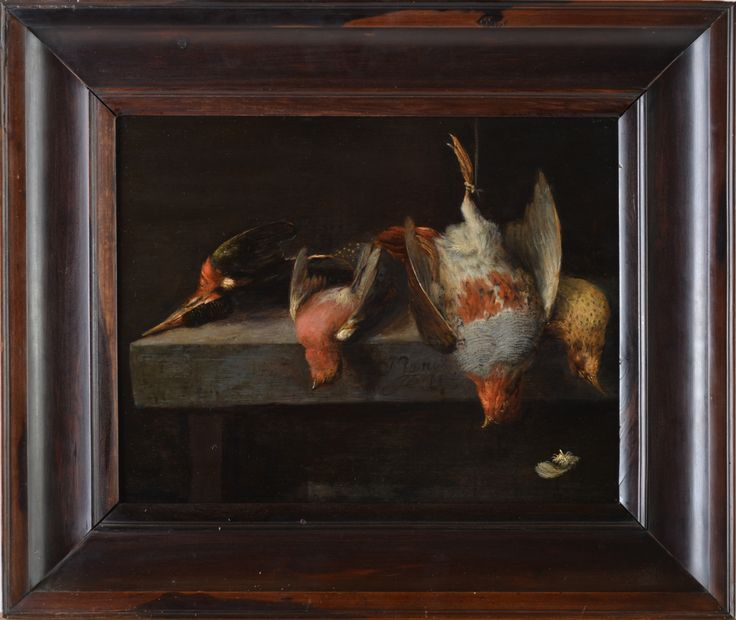Still Life by Dutch Master Jan Vonck // Oil on Panel // 17th Century - Wall - Greedfineart.com