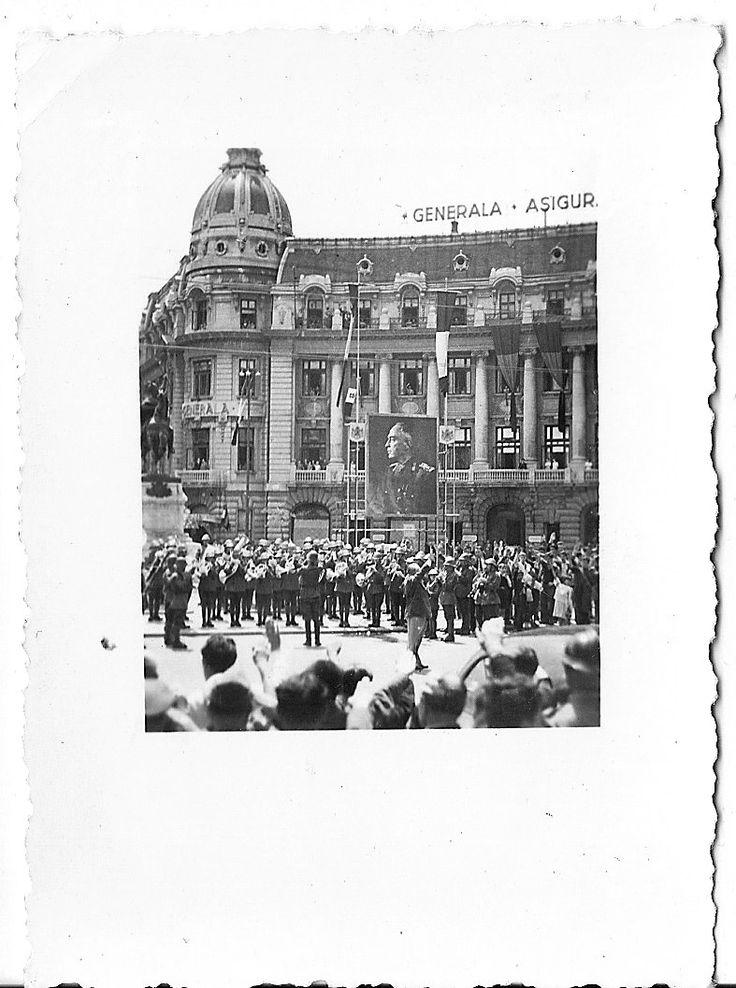 Tocmai ce am primit doua imaginidin Bucurestiulanului 1941.Fotografiile datate 24.07.1941 suntrealizate la exact o luna dupa ce Romania s-a aliat Germaniei in campania militara antisovietica (24.06.1941) si la doua zile inaintea eliberarii Basarabiei de sub ocupatia Rusiei comuniste (26.07.1941)