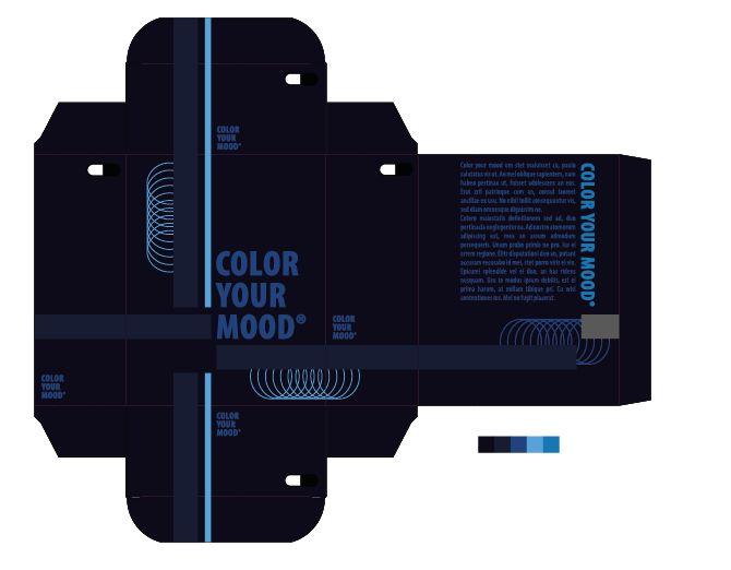 """Nieuwsgierig: nr.3 van de 3 beste kleurpaletten mits aanpassingen. Ik heb voornamelijk donkere kleuren gebruikt om het stereotype aan te duiden. De lichte vormen geven het nieuwsgierige aan. """"ze"""" komen zich moeien of willen meer weten over het donker blauwe."""
