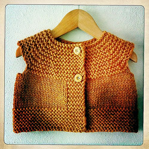 AliciaPaulson's Curry Vest ~ Free pattern download