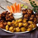 Vegane Buffalo wings oder auch Blumenkohl wings schmeckt am besten in Cowboyhut und Feinripphemd. Blumenkohl zu Chicken wings, ein Geniestreiche...