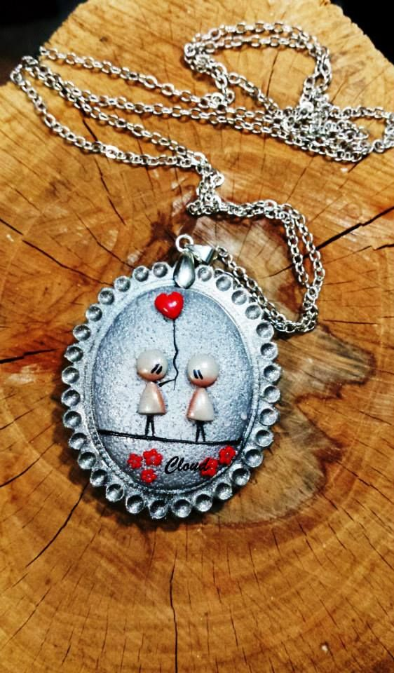"""Cammeo fimo argento. """"Too much love"""" https://www.facebook.com/1622778361284056/photos/a.1622788797949679.1073741827.1622778361284056/1622790114616214/?type=3&theater"""