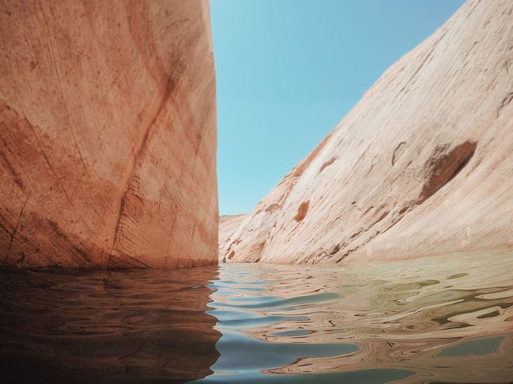 Best slot canyons lake powell