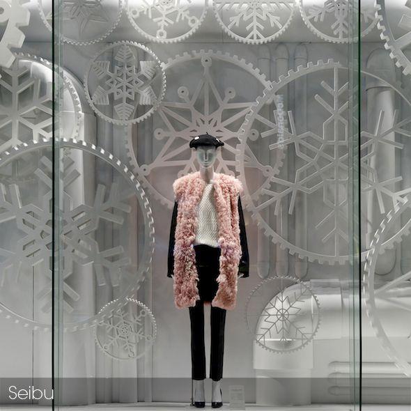 """SEIBU, Japan,""""The Snowflake Theory"""", pinned by Ton van der Veer"""