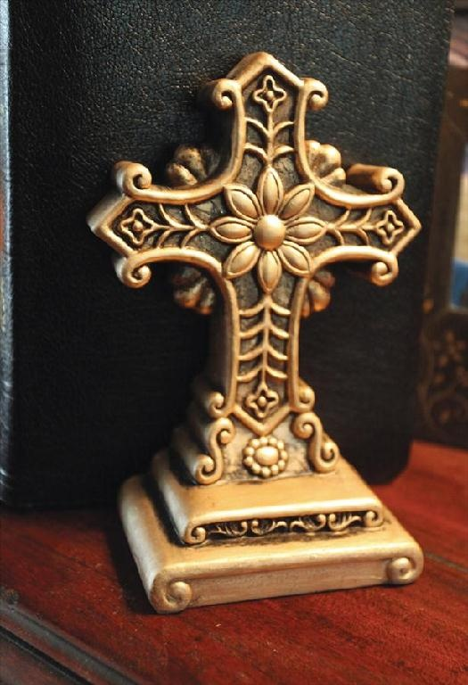 Cross Bookends, Set Of 2