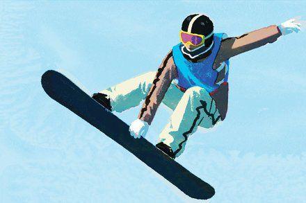 Big-Air Snowboarding to Make Its Big Olympic Debut