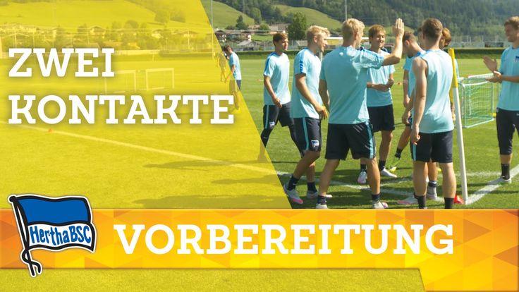 Training - Zwei Kontakte - Hertha BSC - Bundesliga - Berlin - Dardai - 2...