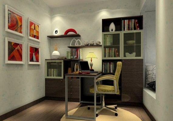 Стиль модерн в интерьере рабочего кабинета