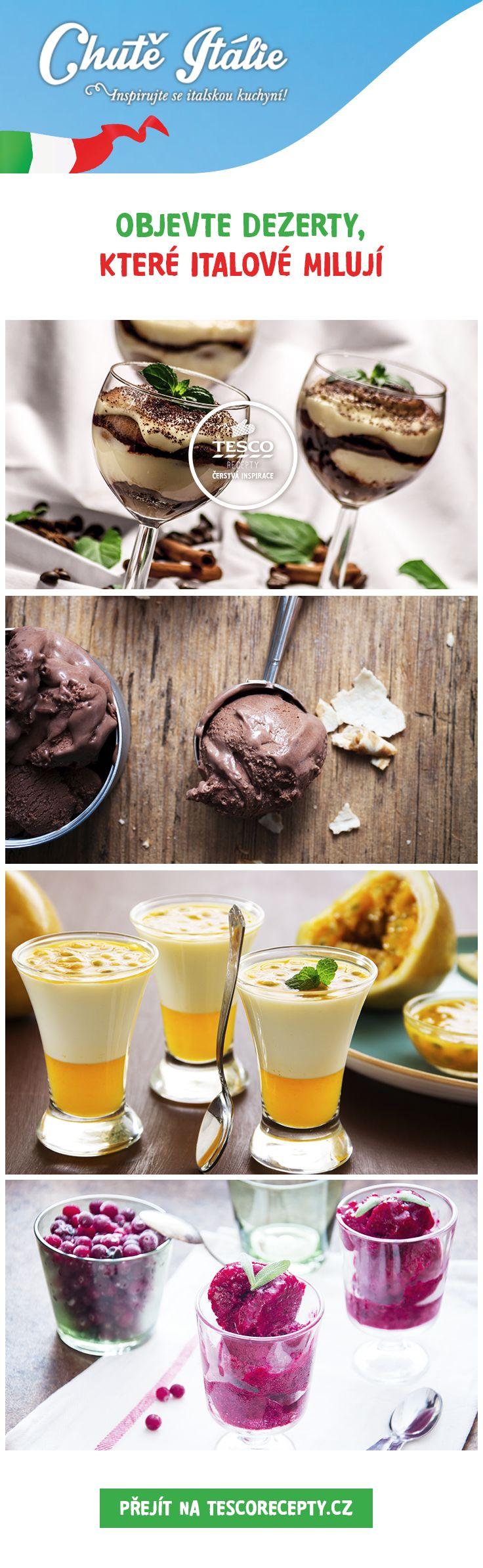 Připravte si typické italské dezerty podle našich receptů!
