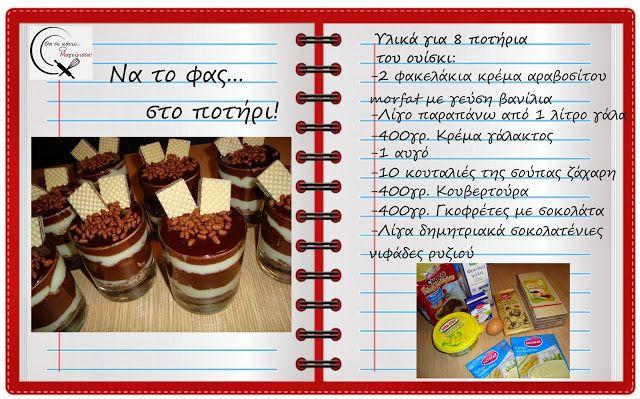 Θα σε κάνω Μαγείρισσα!: Να το φας στο ποτήρι!