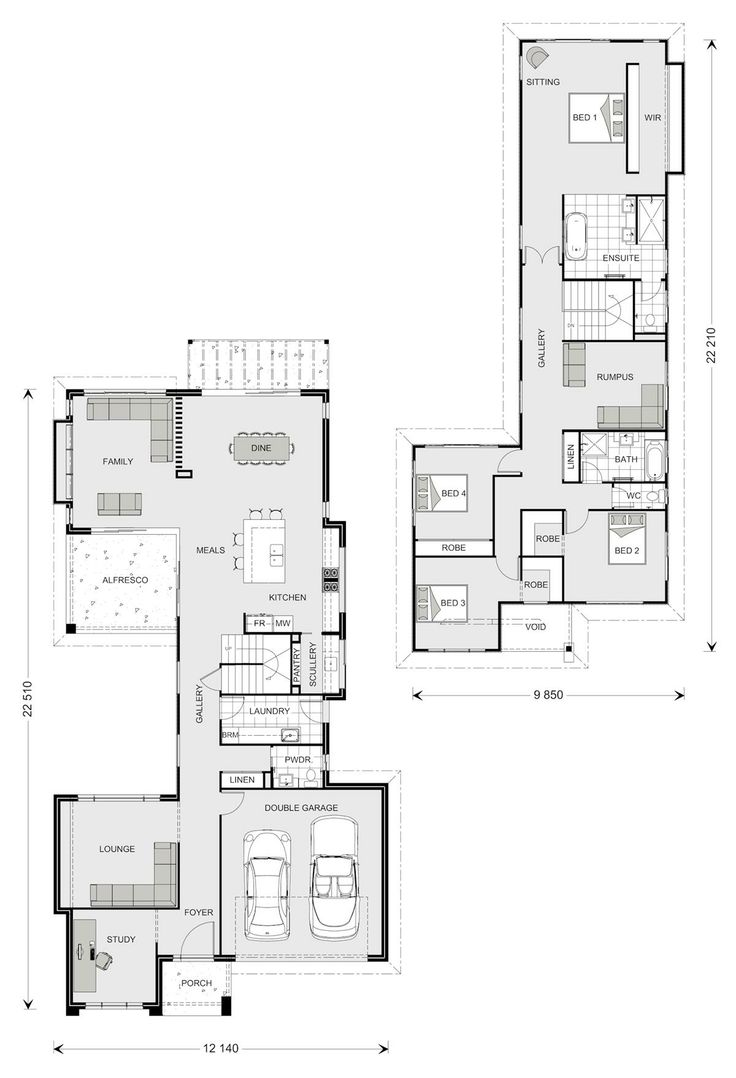 63 best plans images on pinterest architecture dream house another good plan for a narrow block galleria 352 our designs gladstone builder