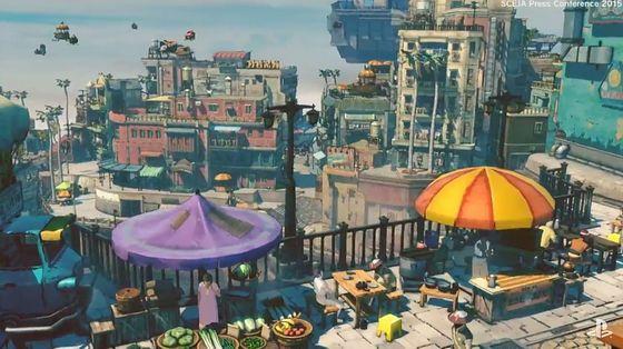 PS4で「GRAVITY DAZE 2」と「GRAVITY DAZE」が発売決定で無重力体験が再び - GIGAZINE