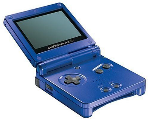 Nintendo Game Boy Advance SP - Cobalt Blue - Quite possibly the most perfect video game system of all time.