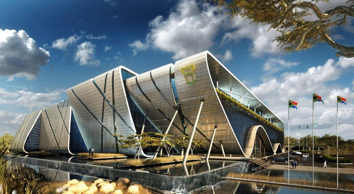 Design by Paragon Architects for the National Department of Arts, Culture, Science and Technology. #architecture #johannesburg