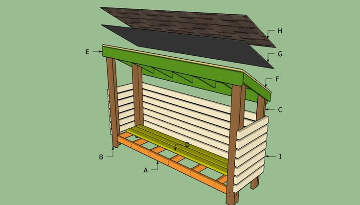 How to build a wood shed | HowToSpecialist - How to Build, Step by Step DIY Plans